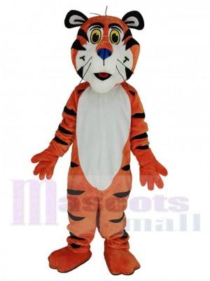 Tigre costume de mascotte