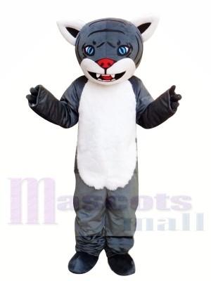 Tigre gris de bande dessinée Costume de mascotte Livraison gratuite
