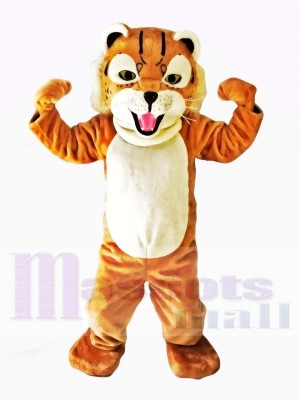 Beaux costumes de mascotte tigre