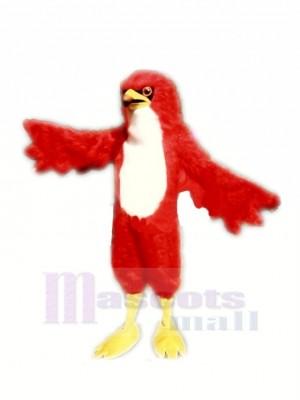 Féroce rouge faucon Mascotte Les costumes Adulte