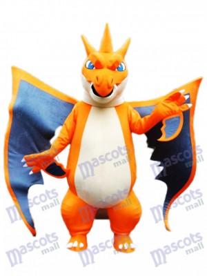 Méga Charizard X Monstre de poche Pokémon Pokémon Go Costume de mascotte