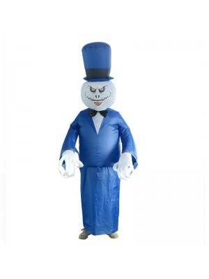 Halloween Fantôme Gonflable Costume Halloween Noël Coup en haut Costume pour Adulte