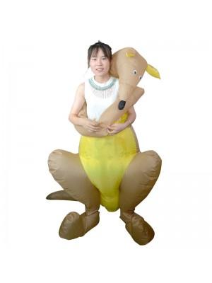 Kangourou Étreinte moi Gonflable Costume Halloween Noël Costume pour Adulte