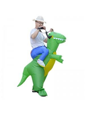 T-Rex Dinosaure Porter Moi Balade Sur Gonflable Costume Halloween Noël Pour Adulte
