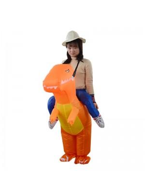 T-Rex Dinosaure Porter Moi Balade Sur Gonflable Costume Halloween Noël Pour Adolescent