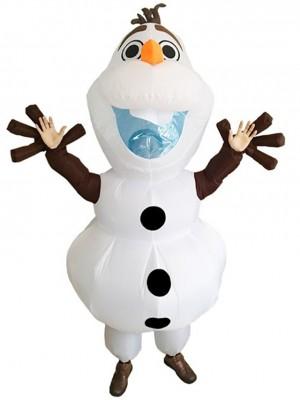Gonflable Olaf Bonhomme de neige Congelé Halloween Noël Déguisements pour Adultes