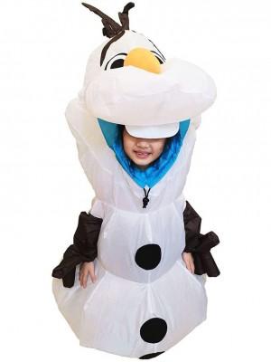 Gonflable Olaf Bonhomme de neige Congelé Halloween Noël Déguisements pour Enfant