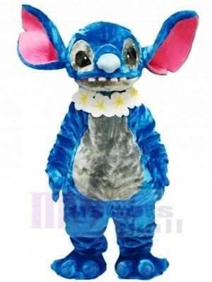 Bleu Stich Lilo Mascotte Costume Dessin animé