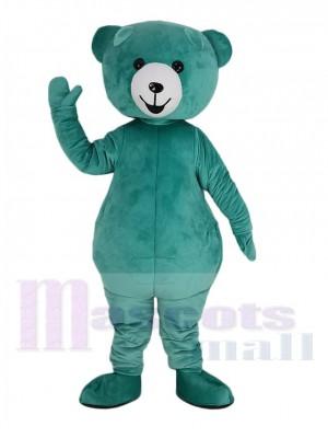 Mignon menthe Vert Nounours Ours Mascotte Costume