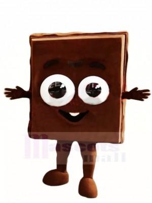 Chocolat heureux Costume de mascotte