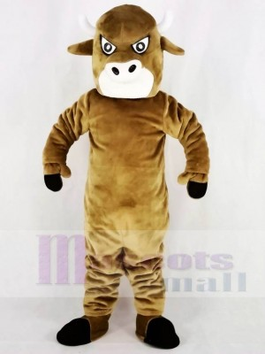 marron Taureau Mascotte Costume Université