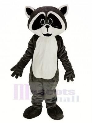 gris bronzer Robbie Raton laveur Mascotte Costume Animal