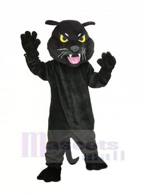 Noir Panthère Mascotte Costume Animal