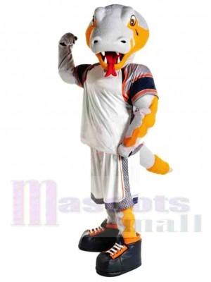 Cobra sportif Costume de mascotte