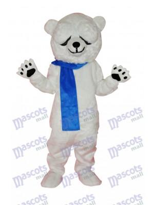 Costume de mascotte adulte mignon ours polaire Animal