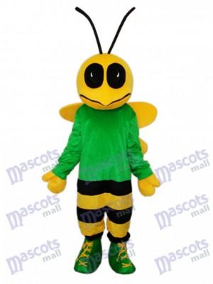 Mascotte de l'abeille verte Costume adulte Insecte
