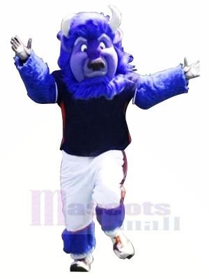 Fort Bleu Buffle Mascotte Les costumes Animal