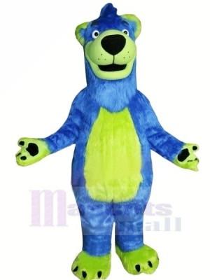 Bleu et vert Ours Mascotte Les costumes Animal