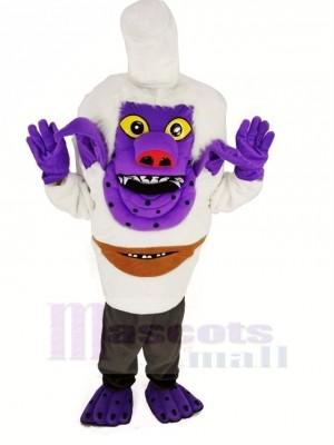 Trolls le Royal Chef de Bergen Ville Mascotte Costume Dessin animé