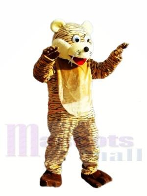 Tigre chanceux Mascot Costume Adulte Livraison gratuite