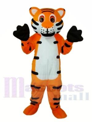 Tigre orange Mascot Costume Adulte Livraison gratuite