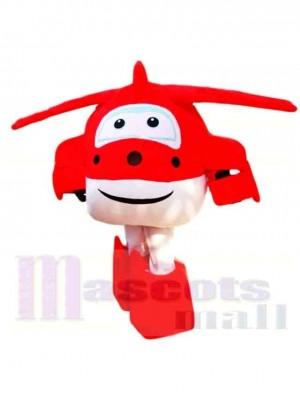 Super ailes Dessin animé Mignonne Jett Costume de mascotte