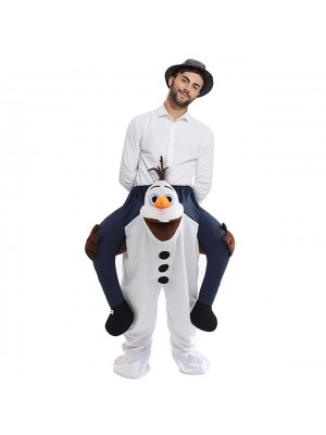 Congelé Olaf Porter moi Montez sur Halloween Noël Costume pour Adulte/enfant