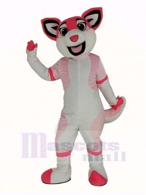 Rose Rauque Chien Mascotte Costume Animal