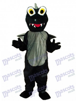 Déguisement de dinosaures noires Costume adulte Animal