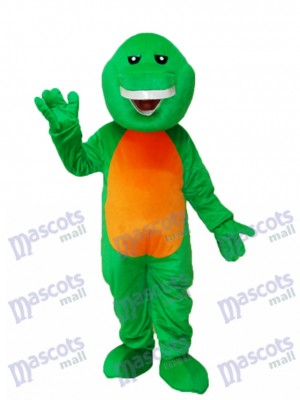Déguisement de mascotte verte Barney Dinosaur Animal