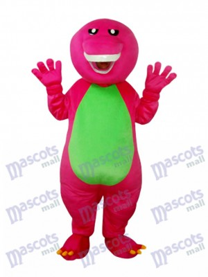 Barney Dinosaur Mascotte Costume adulte Animal