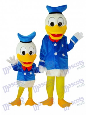 Enfant et Adulte Donald Duck Mascotte Costume Cartoon Anime