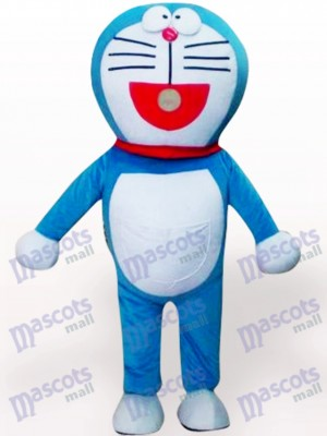 Vivid Doraemon Cartoon Anime costume de mascotte adulte