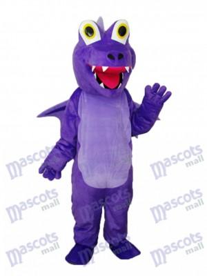 Déguisement de mascotte de dragon épine pourpre Animal