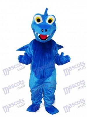 Déguisement de mascotte Dragon épine bleue Animal