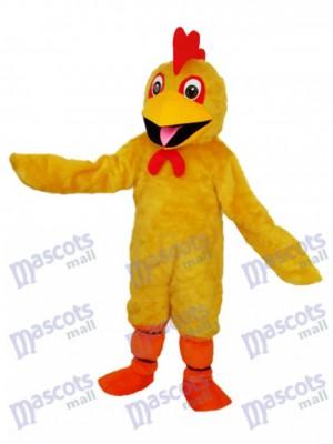 Mascotte de poulet jaune Mascotte Costume Animal