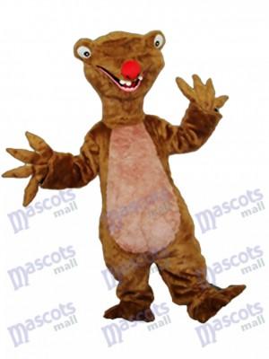 Costume de mascotte de paresse adulte