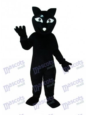 Costume de mascotte renard noir adulte