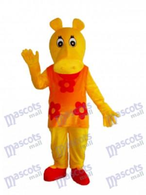 Vieux Hippopotame Hippopotame Mascotte Costume Adulte Animal