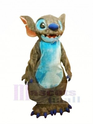 Gris Lilo & Stitch Mascotte Les costumes Dessin animé