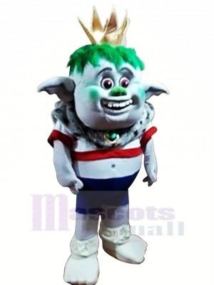 Trolls Roi Mascotte Les costumes Dessin animé