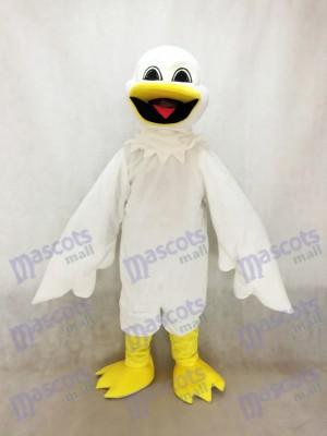 Costume de mascotte Harold Bird blanc