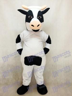 Costume mignon de mascotte de vache laitière