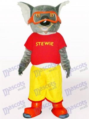 Ski Koala en Costume de mascotte adulte vêtements rouges