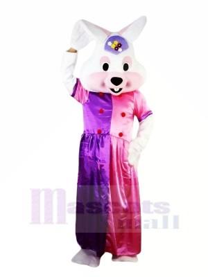 Fantaisie Robe Pâques lapin Mascotte Les costumes Animal