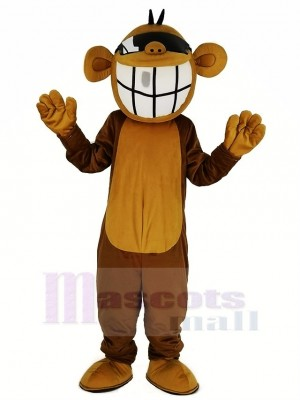 Cool Marrant Singe Mascotte Costume Animal