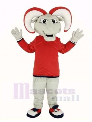 RAM avec rouge Manteau Mascotte Costume Animal