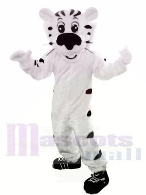 tigre blanc Costumes De Mascotte