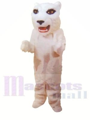 Weiße leichte Tiger Maskottchen Kostüme