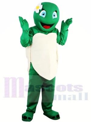 Costume de mascotte tortue verte Tortue verte vente chaude Performance scolaire adulte